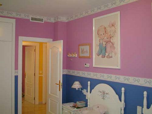 Pinturas r tulos alarc n habitaci n infantil - Pinturas habitacion infantil ...